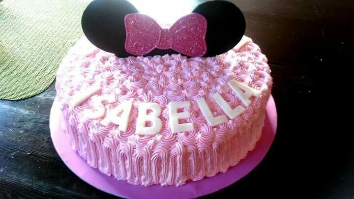 Minny mouse cake