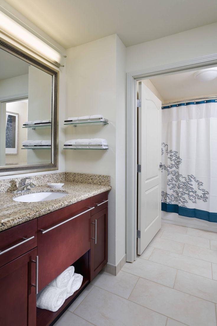 Residence Inn Fargo Suite Bathroom Hotels Hotels Rooms