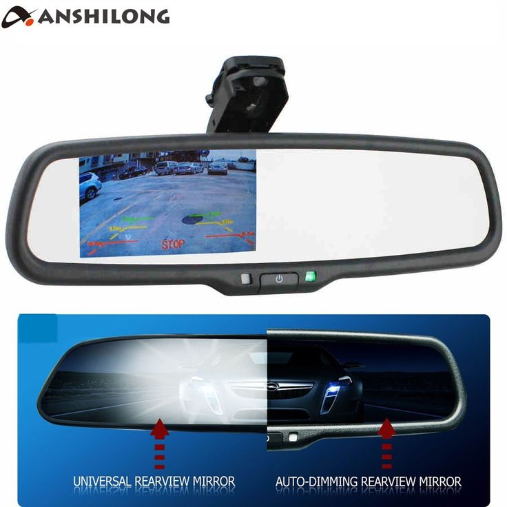 Cheap price US $72.68  ANSHILONG OEM Auto Dimming Rear View Mirror with 4.3 inch 800*480 Resolution TFT LCD Car Monitor Built in Special Bracket  #ANSHILONG #Auto #Dimming #Rear #View #Mirror #inch #Resolution #Monitor #Built #Special #Bracket  #Internet