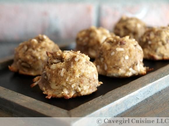 Banana Bread Bombs Would love to try these, but without the honey.. maybe the bananas will sweeten them enough??