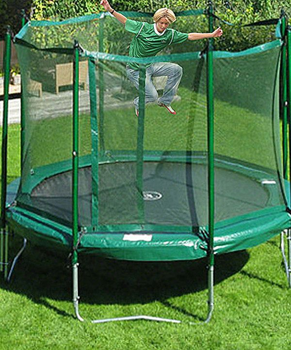 Look at this JumpFree 15' Trampoline & Safety Skirt Set on #zulily today!