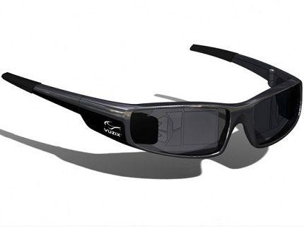 Las Gafas de realidad aumentada de Vuzix.