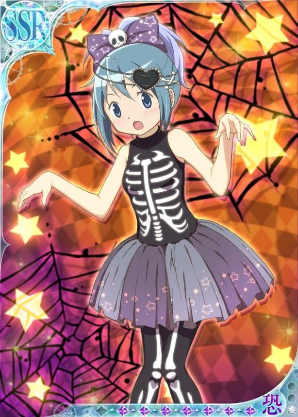 "Crunchyroll - ""Madoka Magica Online"" Shows Off Girls' Halloween Costumes"