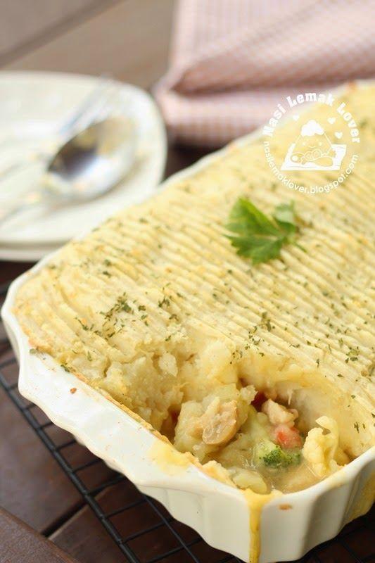 Nasi Lemak Lover: Chicken Cottage Pie 鸡肉农舍派