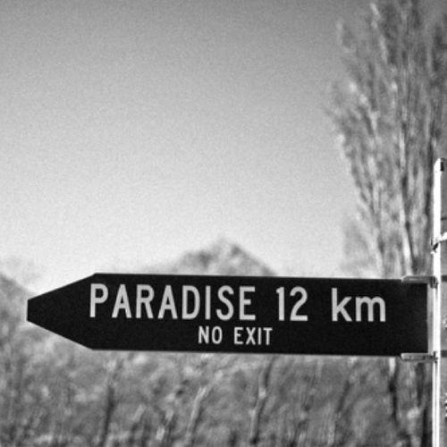 Das Paradies wartet gleich um die Ecke