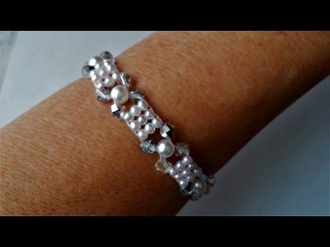 Elegant Beads Bracelet. DIY Jewelry making for beginners - YouTube