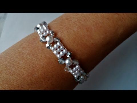 Elegant Beads Bracelet. DIY Jewelry making for beginners - YouTube