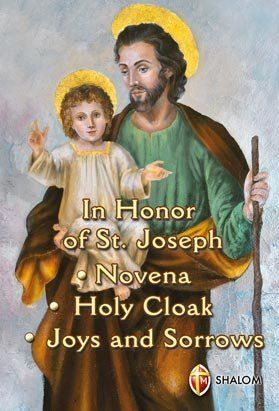 """Receive this book FREE with any purchase from our store: www.stjosephscorner.com  """"No matter how great your needs, turn to the powerful help of St Joseph. Go to St Joseph with sincere confidence and rest assured that your pleas will certainly be heard."""" (St. Teresa of Ávila)"""