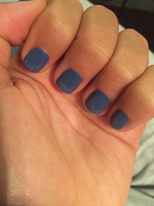 Miami gel imimonima verniki 17 color blue gray color www.e-nails.gr