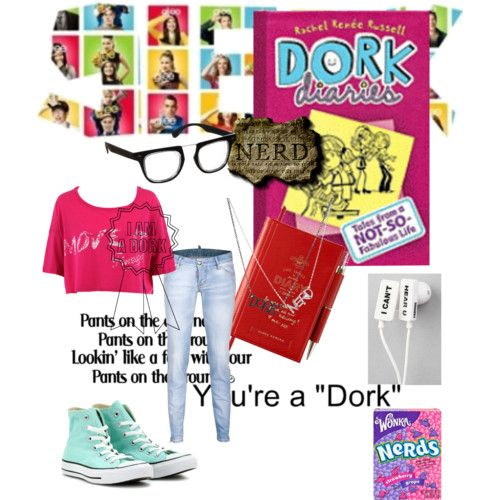 dork diaries home | Dork Diaries - Polyvore  this is what im wearing for world book day as zoey cant wait!!