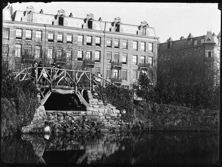 Sarphatipark, Amsterdam 1891. Foto: Jacob Olie