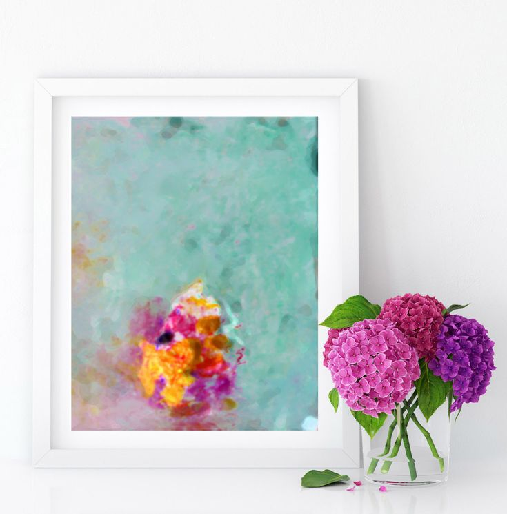 #Abstract #turquoise #Pastel #AbstractArt #PrintableWallArt #INSTANTDOWNLOAD #Printable #Watercolor #AbstractPainting #Nursery #Decor #A4 #Print
