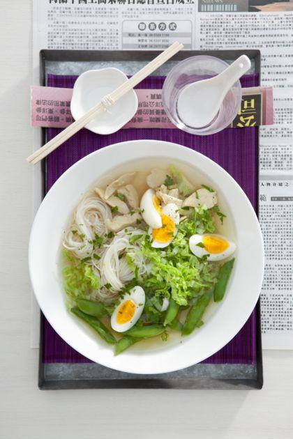 Recept voor Soto Ajam met Chinese kool