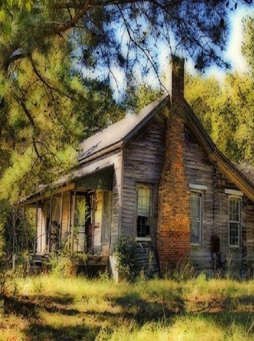 Old Old Farm House Abandoned Houses Buildings And