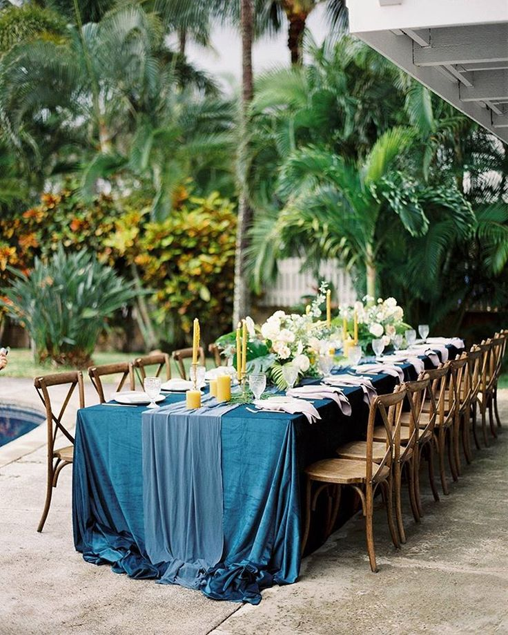 Great La Tavola Fine Linen Rental Velvet Navy With Tuscany Silver Napkins  With Navy Furniture Store Hawaii