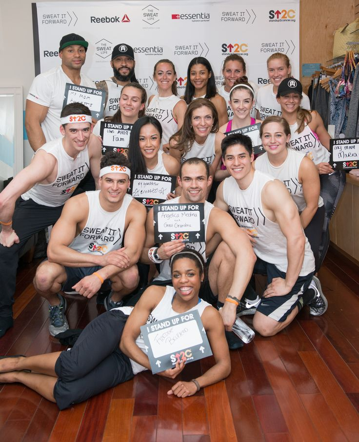 Challenge #4 from Aly Teich and The Sweat Life is in the books. Tone House NYC took on Physique 57's micro-pulsing burns, thigh dancing and water-skiing movements. Find out more about the #SweatItForward movement benefitting Stand Up To Cancer visit their website.