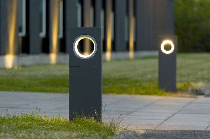 MOON Bollard light by Platek design Olle Lundberg