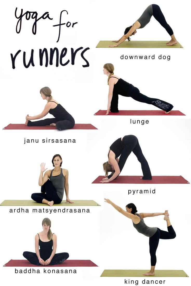 Yoga Stretches That Help Runners Stay Injury Free