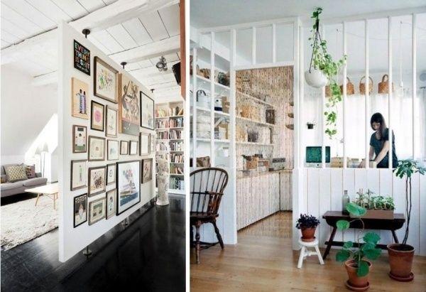 Kreative Ideen Raumteiler-Perlenvorhang Ausstellung Vertikale Fläche