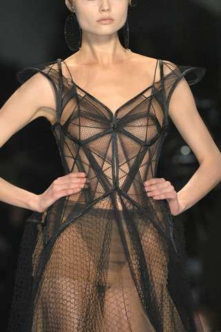 Runway trend: Sheer gowns #runway #fashiontrend