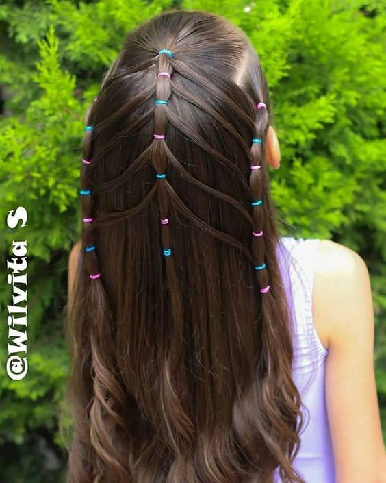 19 Super Easy Hairstyles For Girls | Hair | Hair styles ...