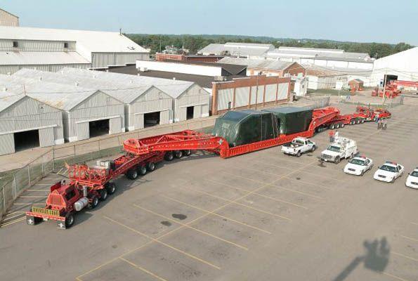 #trucking Heavy Hauling Trailers