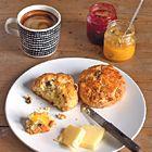 Glutenvrije scones met cranberry's en sinaasappel - recept - okoko recepten