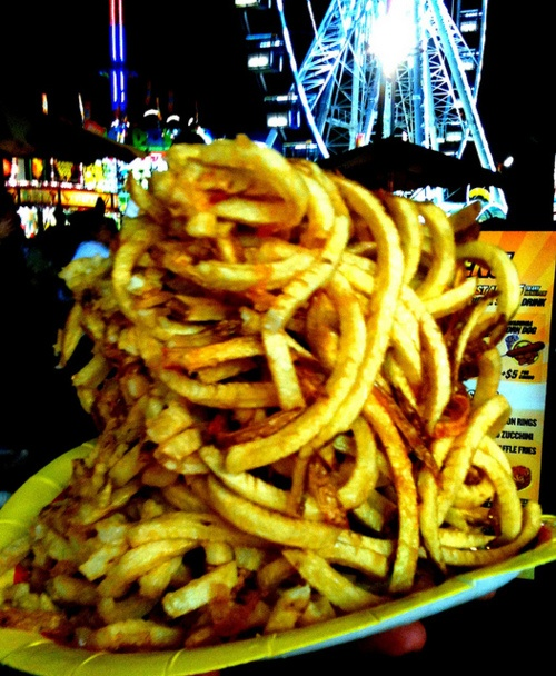 curly fries, LA County Fair