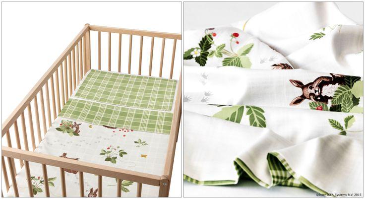 Dacă ar fi să traducem numele acestei lenjerii de pătuț în română, i-am spune ARICIUL PLIMBĂREȚ :). Pentru că suedezilor le place să se înconjoare de povești oriunde ar fi.  www.IKEA.ro/VANDRING_IGELKOTT