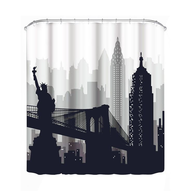 Waterproof Shower Curtain Bathroom Decorating Bath Curtain Home Decoration Large Curtain for Bathroom SPA Divider (180*180cm)  #Affiliate