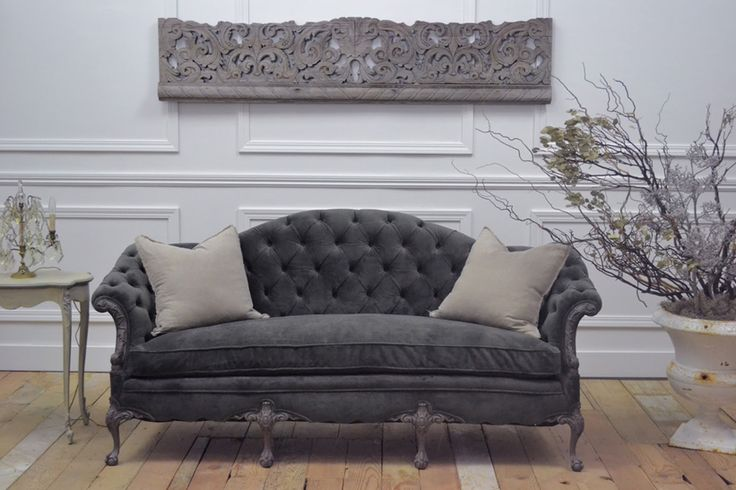love the color of this sofa. would love to mix this sofa with vintage industrial shelving