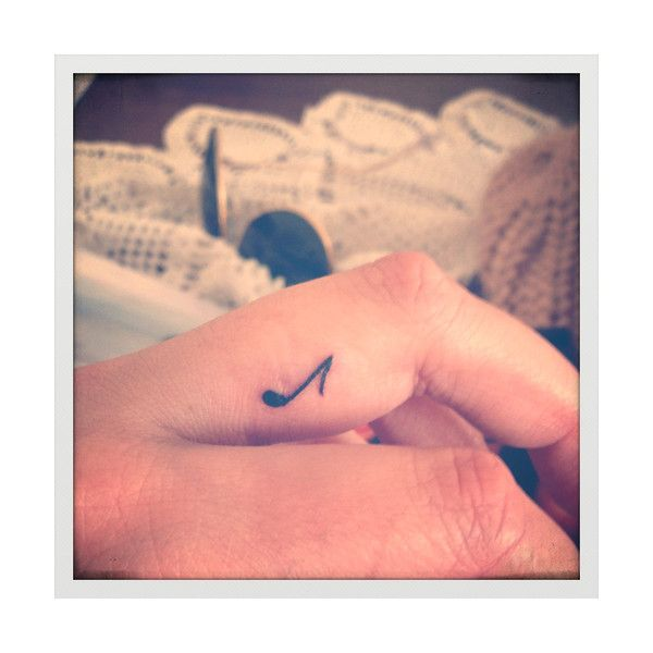 small tattoo   Tumblr found on Polyvore