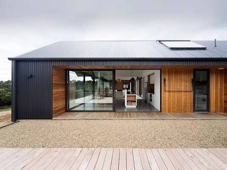 Image result for australian coastal country modern colorbond clad box homes