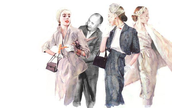 Fashion Ilustration for editorial: Dior Drawing, Beautiful Illustration, Christian Dior, Illustration Inspiration, Berto Martinez, Vintage Dior Illustration, Martinez Fashion, Berto Martínez, Fashion Illustrations
