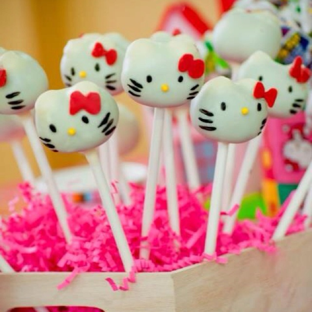 hello kitty cake pops - photo #30