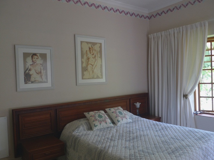Two beautiful life drawings by Lisette Forsyth - framed to complement the paper they were created on.