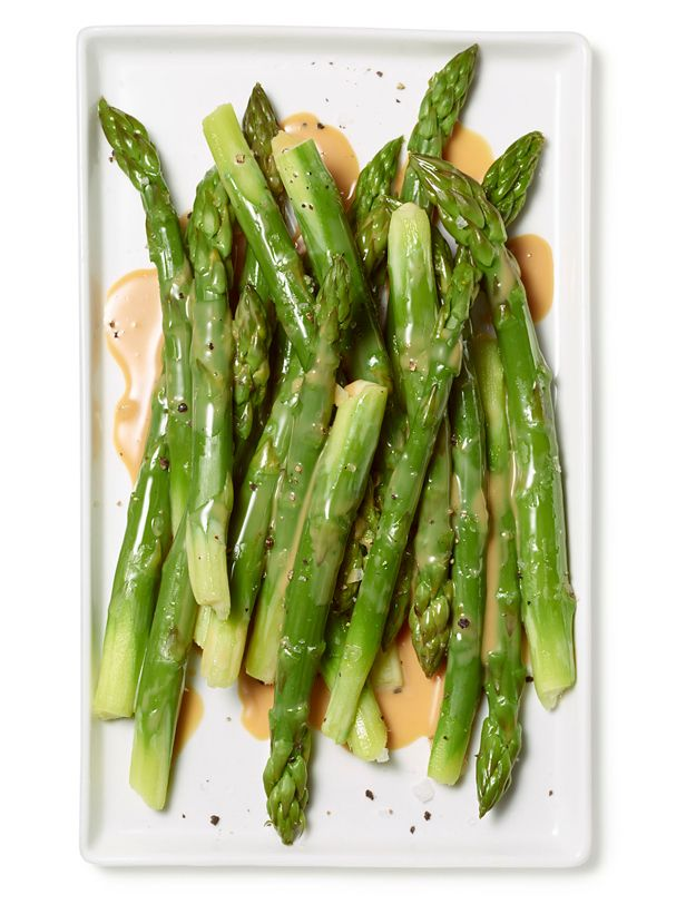Steamed Asparagus Recipe : Food Network Kitchen : Food Network - FoodNetwork.com. can reduce butter - turns out well & tasty