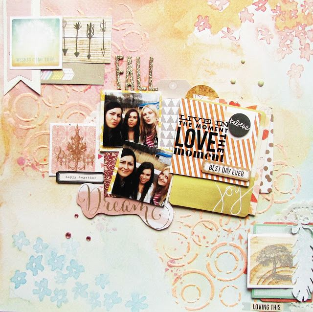 #scrapbooking #13arts #websterspages #americancrafts #makowepole #studiotekturek #scrapbooklayout #layout #scrap