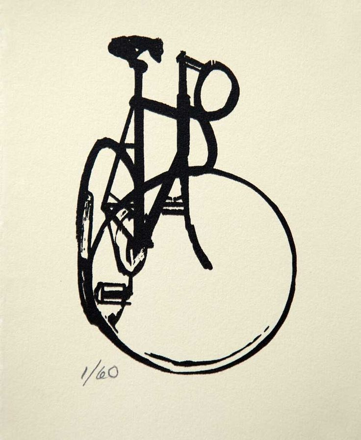 """Old Style Track Bike #6  