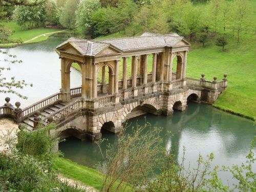 Bath, England -- I can see Queen Guinevere waiting for King Arthur to come home here.