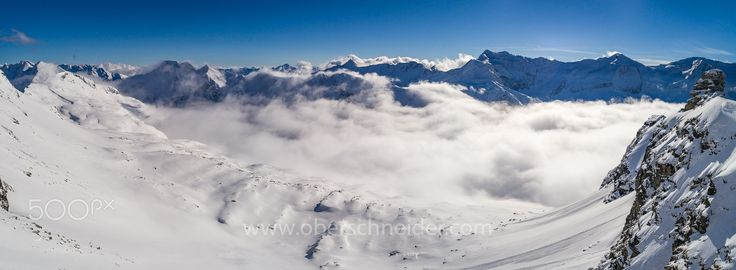 """Winter in the Alps as seen from a Drone #1 - Aerial image captured with a DJI Phantom 4 Pro. Image available for licensing.  Order prints of my images online, shipping worldwide via  <a href=""""http://www.pixopolitan.net/photographers/oberschneider-christoph-a6030.html"""">Pixopolitan</a> See more of my work here:  <a href=""""http://www.oberschneider.com"""">www.oberschneider.com</a>  Facebook: <a href=""""http://www.facebook.com/Christoph.Oberschneider.Photography"""">Christoph Oberschneider…"""