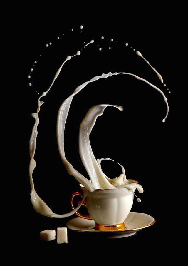 Anti gravity coffee