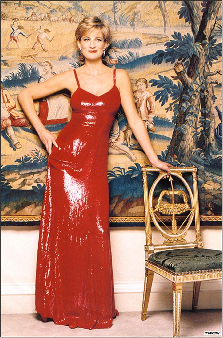 Princess Diana....love it...red