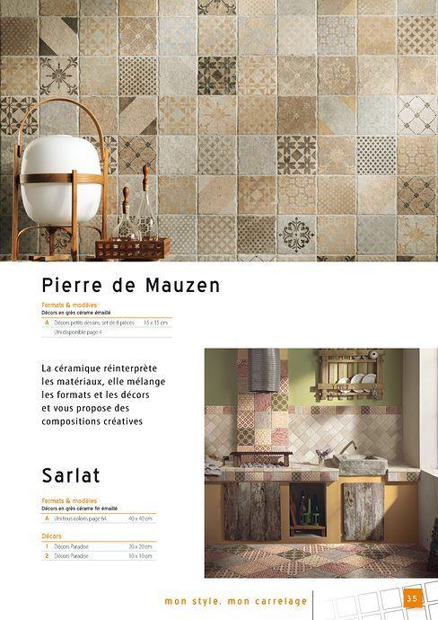 9 best Catalogue 2014 - Décors insolites carrelage pour sol et mur