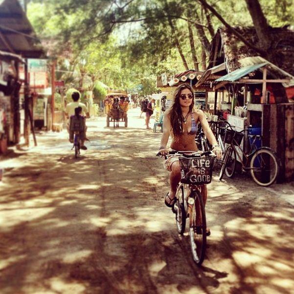 Gili - Trawangan... Nog even en ik fiets daar.. Day dreaming  Je nous imagine déjà