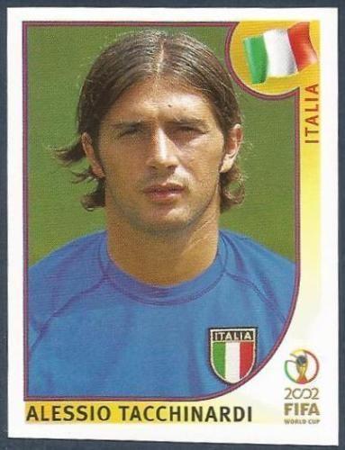 PANINI KOREA/JAPAN WORLD CUP 2002- #466-ITALIA-ITALY-ALESSIO TACCHINARDI