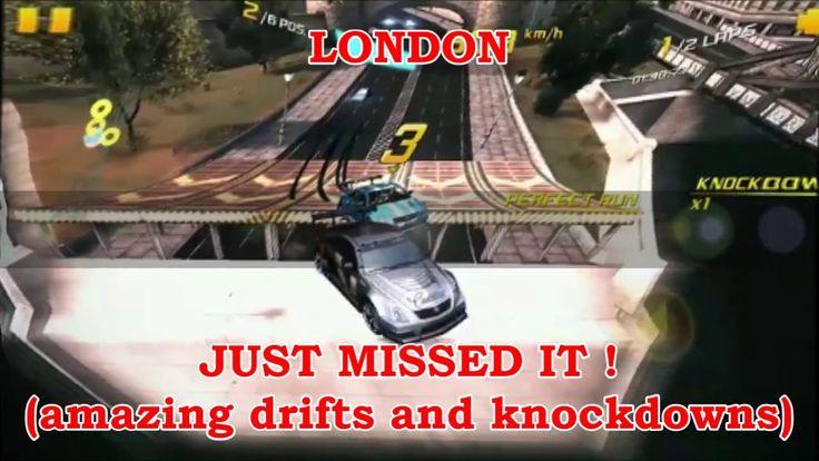 ASPHALT 8 LONDON best airtime drifts knock down moments crazy  asphalt x...