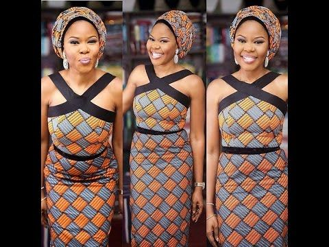 Latest Ankara Aso Ebi Styles From Instagram