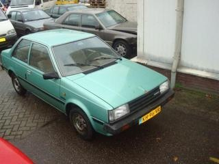 Number 5, one ugly Nissan Sunny!