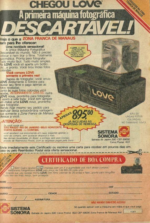 Câmera Love (1981).